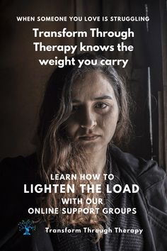 Transform Through Therapy understands the weight that you carry. Learn how to lighten the load with our online support groups. • • • #mentalillness #mentalwellness #onlinetherapy #teletherapy #grief #struggling #familyissues #relationshipstruggles #relationships #healing #loneliness #helplessness #dailychallenges  #loss  #hope #copingstrategies #support #community #transformthroughtherapy Relationship Struggles, Relationships, Emotionally Exhausted, Support Groups, Family Issues, Online Support, Loneliness, Understanding Yourself, Mental Illness