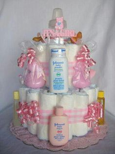 Another cute Diaper cake for Paisa and Andrea!
