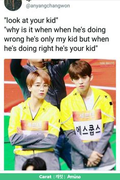 Jeongcheol with their children XD