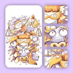 Los signos del zodiaco by Angga tantama