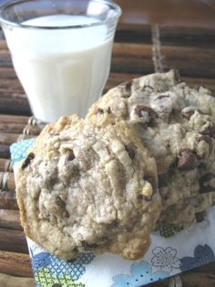 Cookies with coconut oil instead of butter