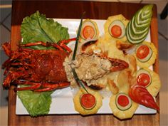 Lobster - Smugglers Cove #FIJI way..
