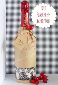 nadelfein und kringelbunt: #Flaschenverpackung #Geschenk #Flaschenbanderole #Flasche #Papier #Verpackung #Tape #DIY #Tutorial e #handmade #Stempeln #Packpapier #Weinflasche http://nadelfein.blogspot.de