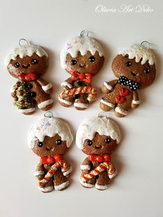 Salt Dough Ornaments, Christmas Crafts, Christmas Ornaments, Holiday Decor, Home Decor, Cards, Fiestas, Xmas, Deko