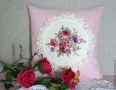 """""""Французская мечта"""" - бледно-розовый,наволочка,наволочки,декоративные наволочки"""