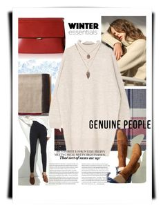 Genuine People 2017 Winter Essentials by cirlylocks on Polyvore featuring Winter, genuinepeople and winter2017