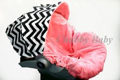Infant Car Seat Cover Baby Car Seat Cover Infant Car by ChubbyBaby