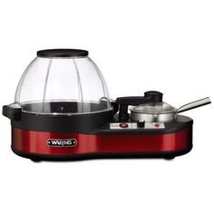 Shop for Waring Pro Popcorn Maker with Melting Station. Get free delivery On EVERYTHING* Overstock - Your Online Kitchen & Dining Shop! Specialty Appliances, Small Appliances, Kitchen Appliances, Movie Theater Snacks, Truffle Butter, Truffle Oil, Homemade Popcorn, Kitchen Electronics