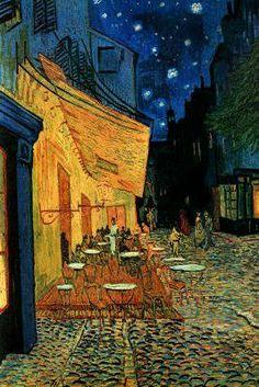 The Café Terrace on the Place du Forum, Arles, at Night, c.1888 Poster Print by Vincent van Gogh, 24x36 Poster Print by Vincent van Gogh, 24x36 by Generic, http://www.amazon.com/dp/B000OHAJJG/ref=cm_sw_r_pi_dp_G7u-pb1AS5NR1