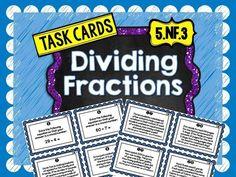 32 Task Cards for Dividing Fractions (scheduled via http://www.tailwindapp.com?utm_source=pinterest&utm_medium=twpin&utm_content=post1171039&utm_campaign=scheduler_attribution)