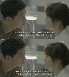 Descendants of the Sun I Series, Keep Calm And Love, Korean Celebrities, Descendants, Korean Drama, Kdrama, Mario, Words, Funny