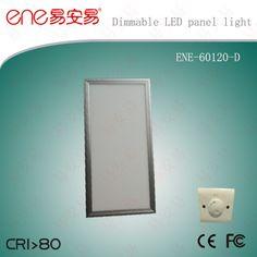600*1200mm Panel Light Dimmable LED Panel Light www.ene-led.com