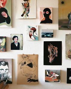 Kunst My little gallery ✨ . Art Inspo, Kunst Inspo, Painting Inspiration, Art And Illustration, Illustrations, Oil Painting On Canvas, Painting & Drawing, Canvas Art, Studios D'art
