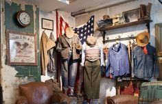 New Americana Fashion Vintage Soul, Vintage Men, Urban Fashion, Mens Fashion, New Americana, Room Store, Vintage Clothing Stores, Men Store, Wardrobe Rack