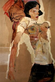 Exhibition in Salzburg: From Klimt to Krystufek Art And Illustration, Gustav Klimt, Figure Painting, Figure Drawing, Painting & Drawing, Figurative Kunst, Modernisme, Ligne Claire, Oeuvre D'art