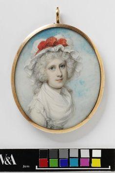 Portrait of Mrs Thomas Chinnal Porter, VandA P.11-1926