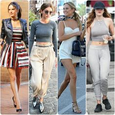 INSPO FROM RECENT STREETSTYLE  SIGHTINGS  #alessandraambrosio #gigihadid #kimberlygarner #bellathorne  #fashionista #wow #blogger #black #spring #summer #dress #queen #legsfordays #fashion #croptop #omg #love #monochrome #heels #angel #vs #victoriassecret #model #adidas #stansmith #superstar #supermodel #beauty #makeup by fashion_style_celebrity
