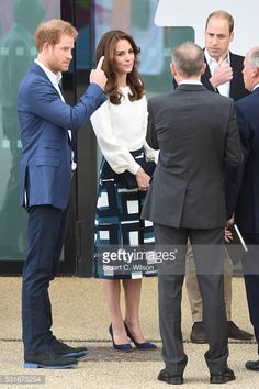 The Duke And Duchess Of Cambridge And Prince Harry Attend The Launch Of Heads Together Campaign   Getty Images