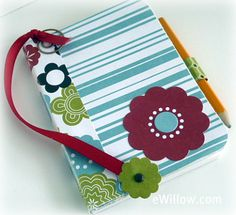Mini Composition Book Journal