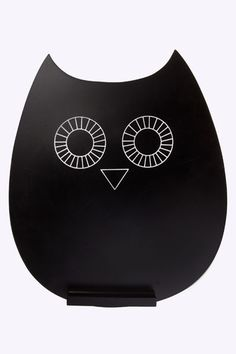 Owl Chalk Board