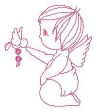 Angels - Free Instant Machine Embroidery Designs