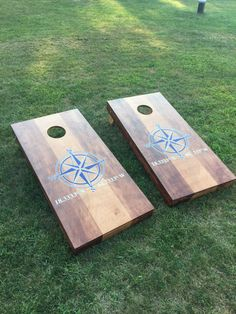 High Quality Cornhole Boards For Sale! Made to order, these boards are custom made and priced for you and your friends to enjoy for years. America…