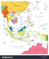 Hasil Gambar Peta Asean Bp2ip Pinterest Southeast Asia Se