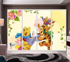Αυτοκόλλητο ντουλάπας για παιδικό δωμάτιο
