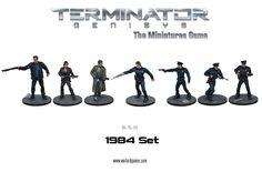 Calabozo Criollo: Terminator Genisys The Miniatures Game Set de 1984...