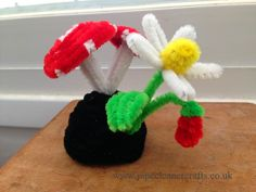 10+ Pipe Cleaner Crafts, Pipe Cleaner Hats