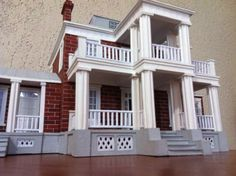 A model of Stars Hollow Museum from Gilmore Girls Everything is made only of PAPER and painted by hand Based only on photos and videos. The model have Stars Hollow Museum - 002 Stars Hollow, Artisan, Museum, Deviantart, Mansions, House Styles, Paper Craft, Craftsman, Mansion Houses