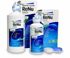 Płyn pielęgnacyjny do czyszczenia soczewek ReNu MultiPlus 360 ml - Bausch&Lomb Contact Lens Solution, Cleaning Supplies, Lenses, Coupons, Personal Care, Bottle, Google Search, Self Care, Cleaning Agent