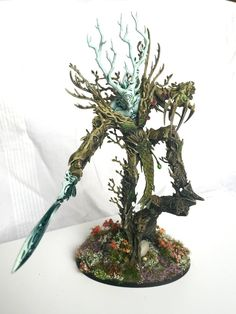 Sylvaneth Revevant themed army - Painting and Modelling - The Grand Alliance Community Warhammer Wood Elves, Warhammer Figures, Warhammer Paint, Warhammer 40k Miniatures, Warhammer Fantasy, Warhammer Aos, Dragon Age Rpg, Age Of Sigmar, Wood Elf