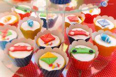 Brincadeira de menino: cupcakes