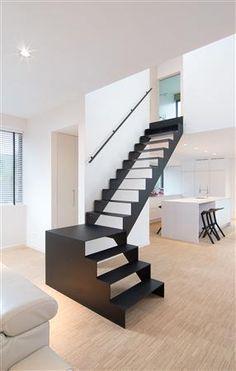 Architecture Awards, Facade Architecture, School Architecture, L Stairs Design, Railing Design, Construction Design, Prefab, Modern House Design, Stairways