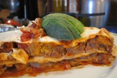 Spicy Mexican Lasagna | VegWeb.com, The World's Largest Collection of Vegetarian Recipes