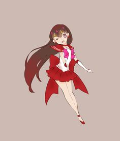 Sailor Mars □ by wool on pixiv