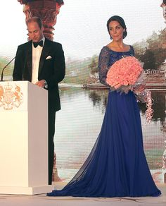 Prince William, Duke of Cambridge and Catherine, Duchess of Cambridge attend the Bollywood Charity Gala at the Taj Palace Hotel on April 10, 2016 in Mumbai, India.