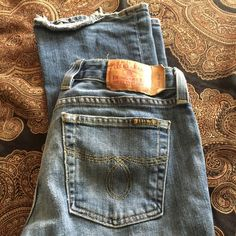 Lucky Brand Dungarees by Gene Montesano boot jean Lucky Brand jeans by Gene Montesano. Lucky Brand Jewelry, Dungarees, Fashion Tips, Fashion Design, Fashion Trends, Jeans And Boots, Best Deals, Womens Fashion, Closet