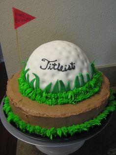 Golf Course Cake Ideas | GALLERY 3 | Byrdie Girl Custom Cakes