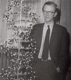 Genetic Scientist Maurice Wilkins. 1960s.   Henry Kendall, one of the main characters in the book, is interested in genetics.  Like Wilson, he is a genetic scientist.  Henry studies how human DNA can be combined.  He created Dave, the human-chimpanzee hybrid by mistake in his lab.