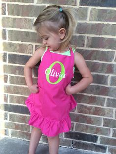 Kid's Apron  personalized kids apron  personalized by AboutASprout