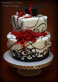 Eventi - Antonella Di Maria Torte & Design - Cake Design Graduation Party Foods, Graduation Cake, Torte Cake, Birthday Cakes For Women, Cake Decorating Techniques, Occasion Cakes, Drip Cakes, Savoury Cake, Pretty Cakes