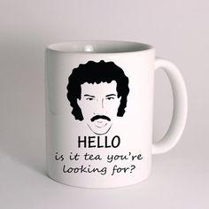 HELLO Lionel Richie for Mug Design