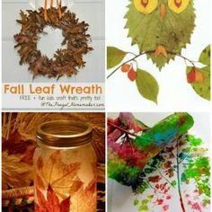 15 Fabulous Fall Leaf Crafts for Kids – DIY & Crafts