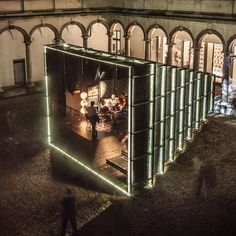 Annabel Karim Kassar explains how her Camera Chiara installation recreated the atmosphere of a Lebanese house in a Milanese courtyard.