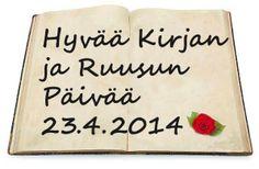 Kirjan ja ruusun päivä