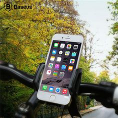 Baseus Wind Series 360 Degree Rotation Bicycle Phone Holder Clip For Mobile Phone