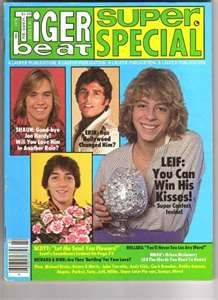 Tiger Beat Magazine
