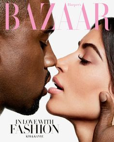 Kim Kardashian West and Kanye West are in love with fashion on the September 2016 cover of Harper's Bazaar. See the full fashion shoot and read the interview here: